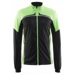 Pánská bunda Craft Intensity černá se zelenou