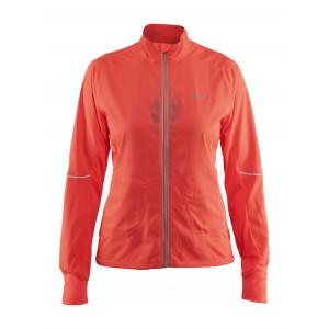 Dámská bunda Craft Brilliant 2.0 Light oranžová reflexní