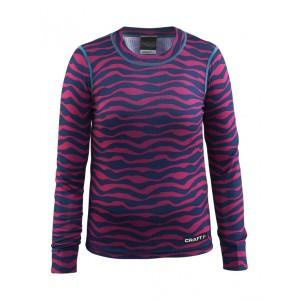 Dětské triko Craft Mix and Match růžová s modrou