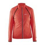 Dámská bunda - vesta Craft X-Over Convert oranžová reflexní