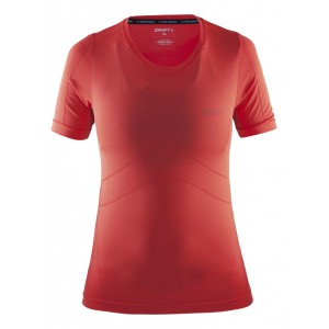 Dámské triko Craft Seamless červená