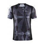 Pánské triko Craft Devotion černá se šedou