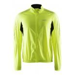 Pánská bunda Craft Velo Wind žlutá reflexní