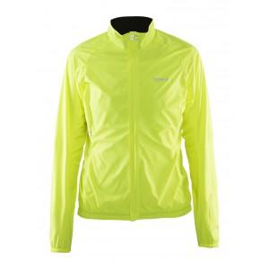 Dámská bunda Craft Velo Wind žlutá reflexní