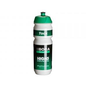 Cyklistická láhev TacX Pro Teams BORA hansgrohe 850ml bílá se zelenou