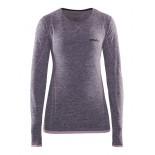 Dámské triko Craft Active Comfort dl.rukáv fialová melír