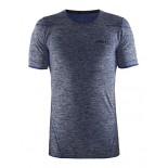 Pánské triko Craft Active comfort kr.rukáv modrá melír