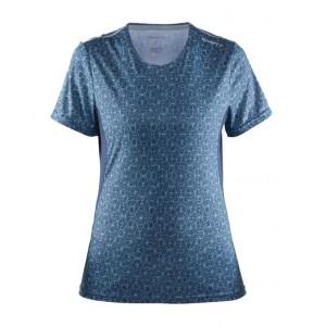 Dámské triko Craft Mind modrá potisk
