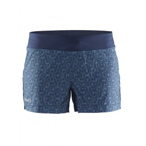 Dámské šortky Craft Mind modrá vzor