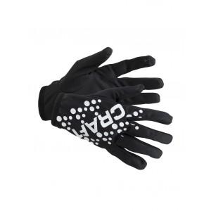 Rukavice Craft Printed Jersey černá