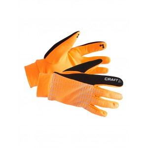 Rukavice Craft Brilliant 2.0 Thermal oranžová reflexní