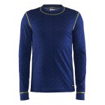 Pánské triko Craft Mix and Match modrá vzor