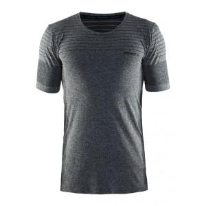 Pánské triko Craft Cool Comfort černá melír