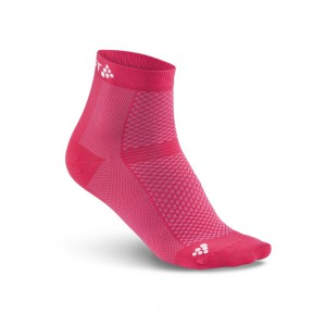 Ponožky Craft Cool Mid 2-pack růžová