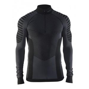Pánské triko Craft Active Intensity se zipem černá