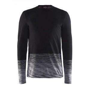 Pánské triko Craft Wool Comfort černá