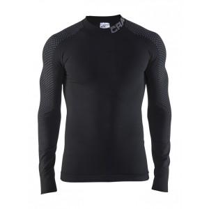 Pánské triko Craft Warm Intensity černá se šedou