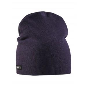 Čepice Craft Solid Knit fialová