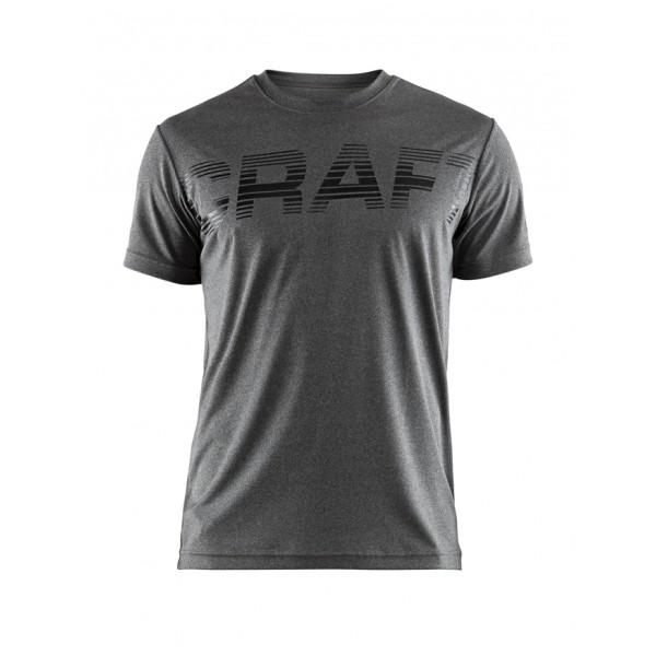 b3237085f39 Pánské triko Craft Prime Logo šedá melír