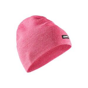 Čepice Craft Solid Knit růžová