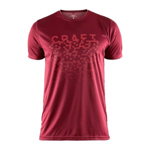 Pánské triko Craft Eaze Graphic červená
