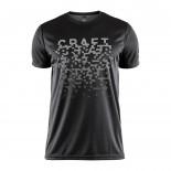 Pánské triko Craft Eaze Graphic černá