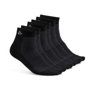 Ponožky Craft Cool Mid 3-pack černá