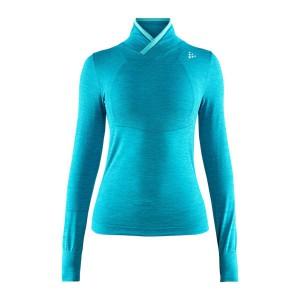 Dámské triko Craft Fuseknit Comfort Wrap modrá tyrkysová