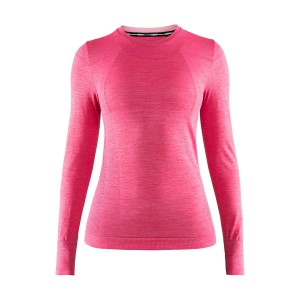 Dámské triko Craft Fuseknit Comfort růžová