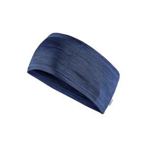 Čelenka Craft Melange modrá melír