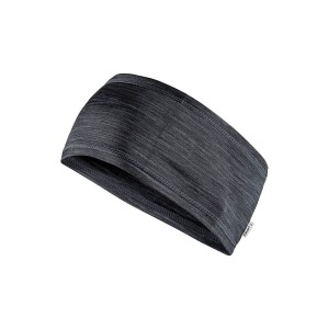 Čelenka Craft Melange tmavě šedá melír