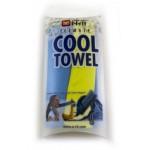 Cool Towel twin chladivý dvojitý ručník světle modrá s limetovou