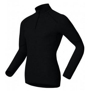 Pánské triko Odlo X-Warm se zipem černá