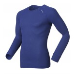 Pánské triko Odlo Cubic modrá
