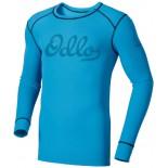 Pánské triko Odlo Warm Trend modrá