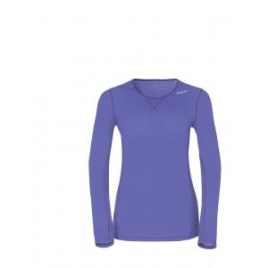 Dámské triko Odlo Revolution fialová melír