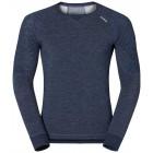 Pánské triko Odlo s merino vlnou Revolution TW X-Warm modrá melír