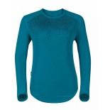 Dámské triko Odlo Vallée Blanche Warm zelená vzor