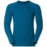 Pánské triko Odlo Warm modrá petrol