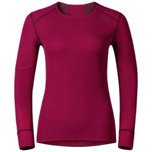 Dámské triko Odlo X-Warm tmavě růžová