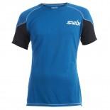 Swix pánské triko O2 modrá petrol