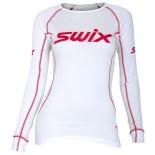 Swix dámské triko RaceX bílá s červenou