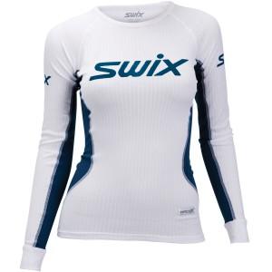 Swix dámské triko RaceX bílá s modrou