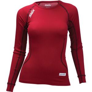 Swix dámské triko RaceX tmavě červená