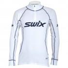 Swix pánské triko se stojáčkem RaceX bílá s modrou