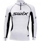 Swix pánské triko se stojáčkem Race X bílá s černou