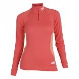 Swix dámské triko se stojáčkem RaceX červená korálová