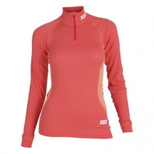 Swix dámské triko se stojáčkem Race X červená korálová