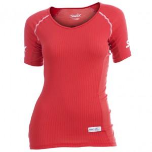 Swix dámské triko Race X Light červená korálová
