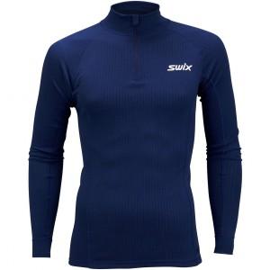 Swix pánské triko se stojáčkem Race X modrá